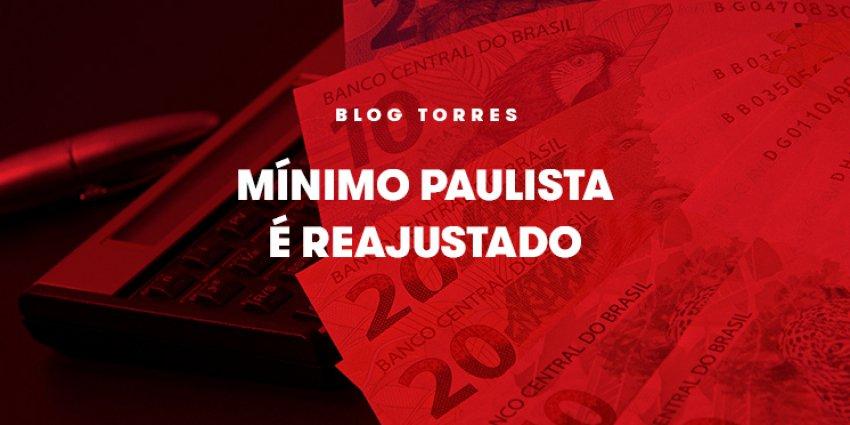 Mínimo Paulista é Reajustado